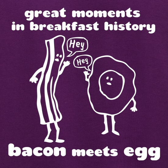 Great Moments In Breakfast History, Bacon Meets Egg Jumpers