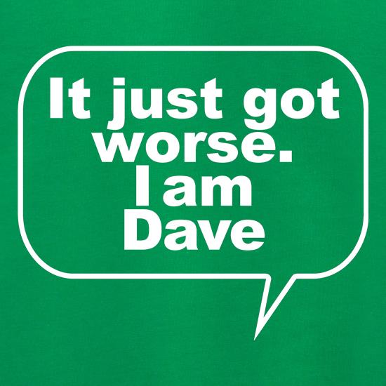 It just got worse. I am Dave Jumpers