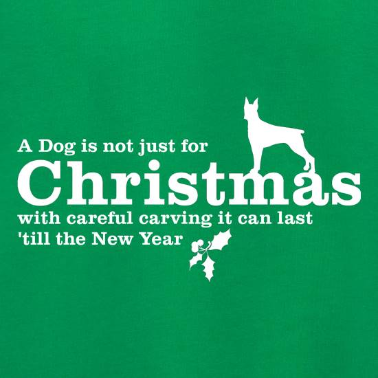 A dog is not just for christmas, with careful carving it can last 'till the new year Jumpers