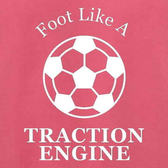 A Foot Like A Traction Engine Jumpers