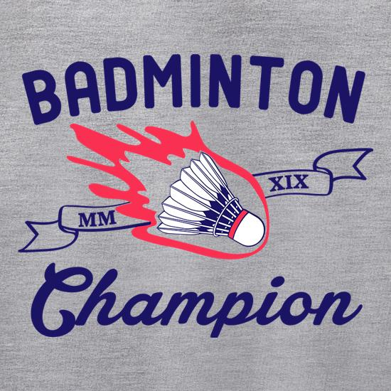 Badminton Champion Jumpers