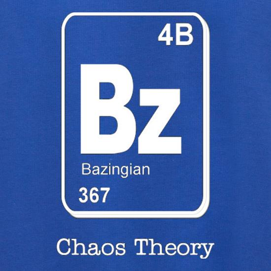 Bazinga Chaos Theory Jumpers