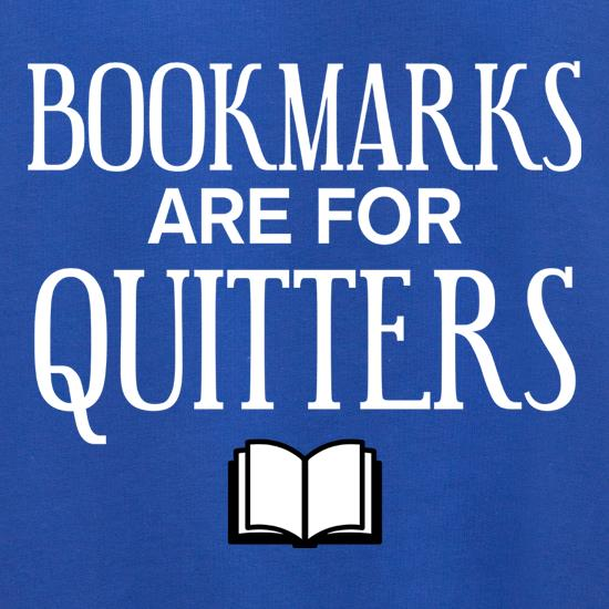 Bookmarks Are For Quitters Jumpers