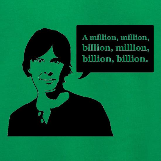 Brian Cox Million Billion Jumpers