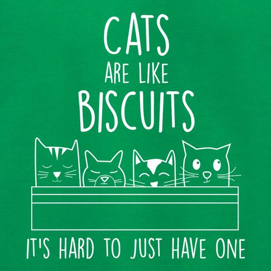 Cats Are Like Biscuits, It's Hard To Just Have One Jumpers