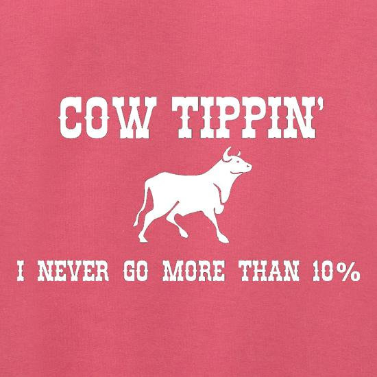 Cow Tippin' I Never Go More Than Ten Percent Jumpers