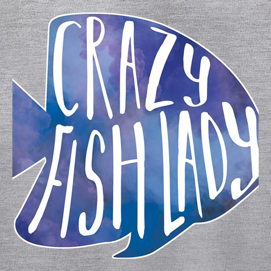 Crazy Fish Lady Jumpers