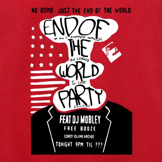 End Of The World Party Jumpers