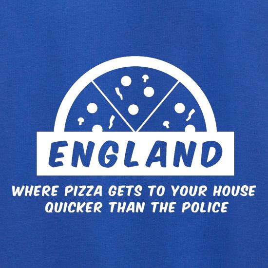 England Where Pizza Gets To Your House Quicker Than The Police Jumpers