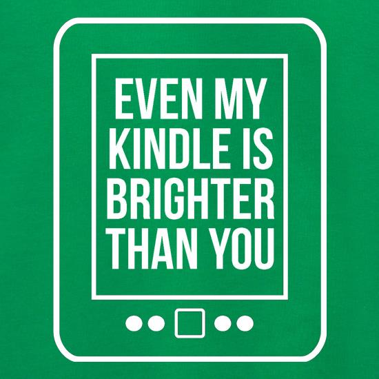 even my kindle is brighter than you Jumpers