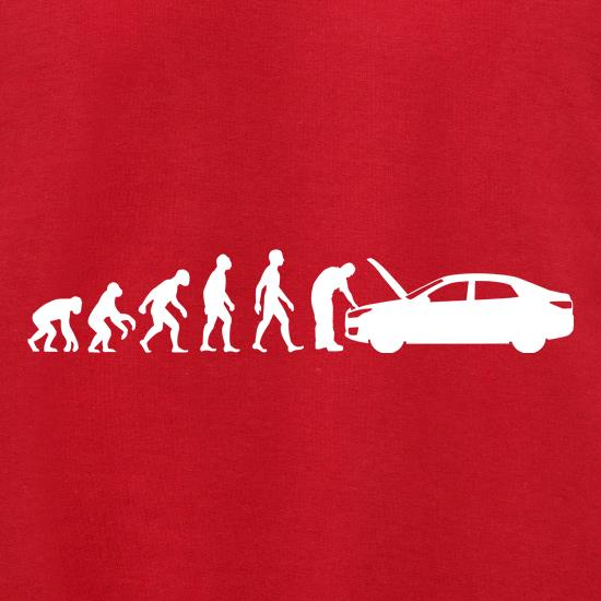Evolution Of Man Car Mechanic Jumpers