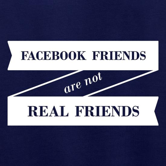 Facebook Friends Are Not Real Friends Jumpers