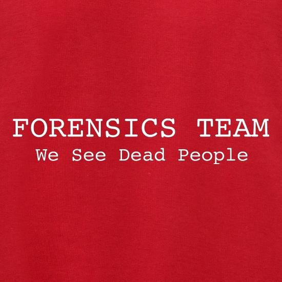 Forensics Team We See Dead People Jumpers