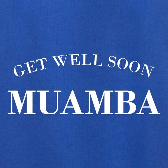 Get Well Soon Muamba Jumpers