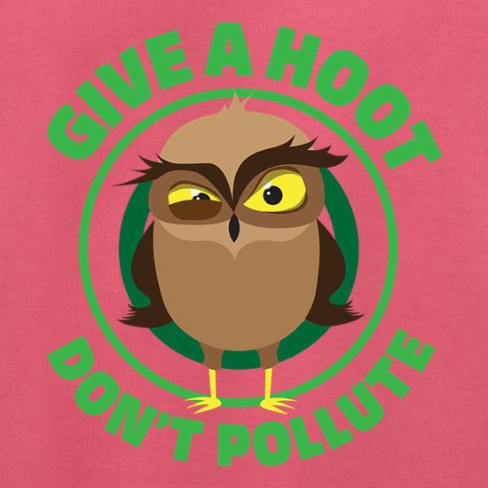 Give A Hoot, Don't Pollute Jumpers