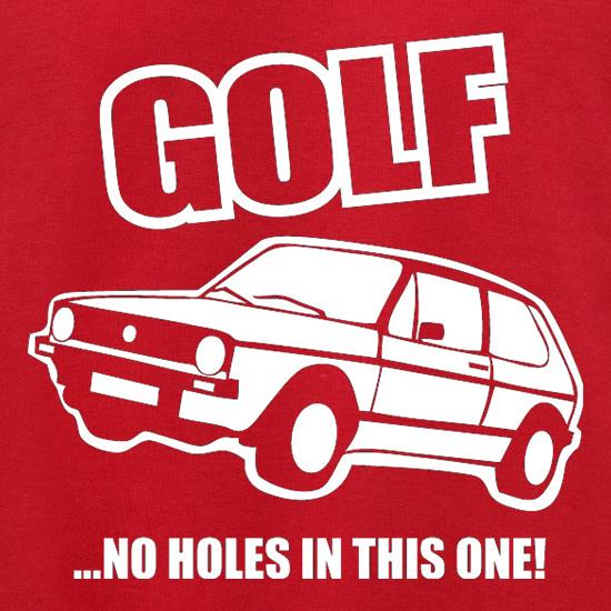 Golf...No Holes In This One! Jumpers