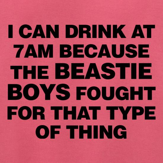 I Can Drink At 7am Because The Beastie Boys Fought For That Type Of Thing Jumpers