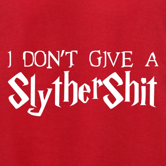 I Don't Give A SlytherShit Jumpers