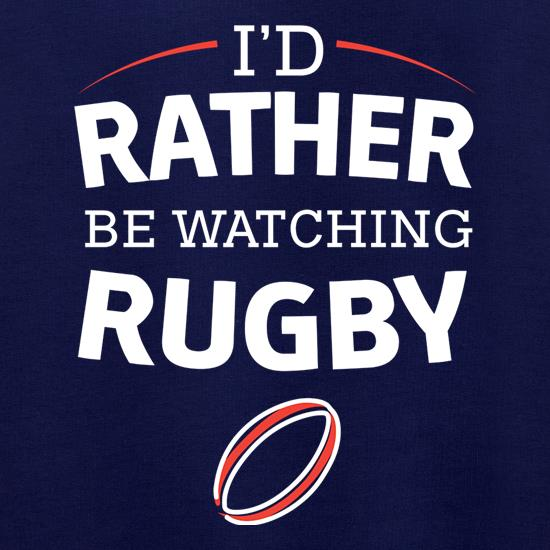 I'd Rather Be Watching Rugby Jumpers