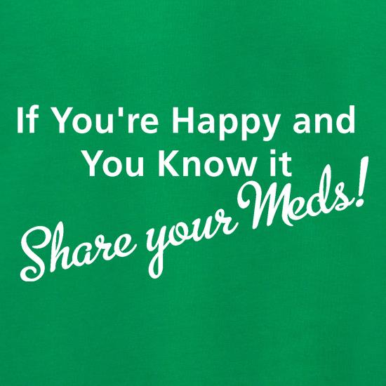 If you're happy and you know it share your meds Jumpers