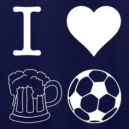 I Heart Beer and Football Jumpers