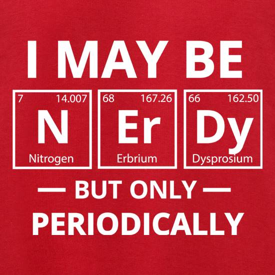 I May be Nerdy, But Only Periodically Jumpers