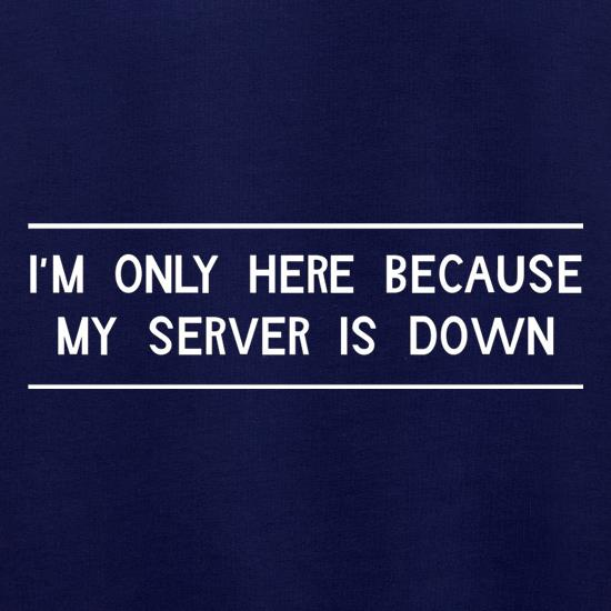 I'm Only Here Because My Server Is Down Jumpers