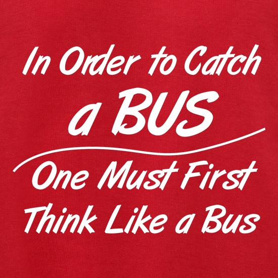 in order to catch a bus, one must first think like a bus Jumpers