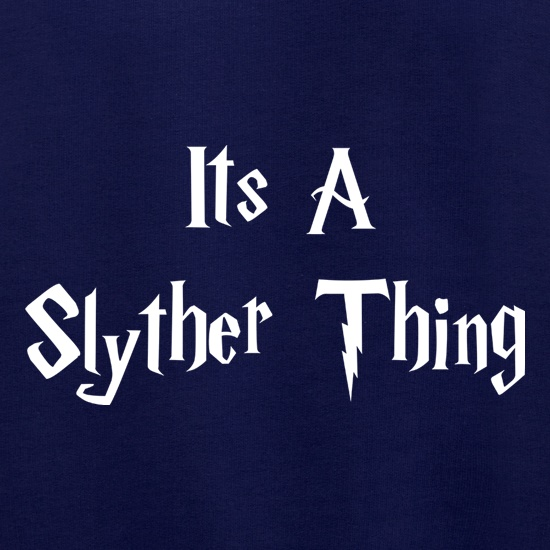 It's a Slyther Thing Jumpers