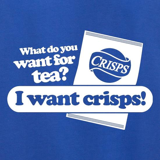 What Do You Want For Tea? I Want Crisps! Jumpers