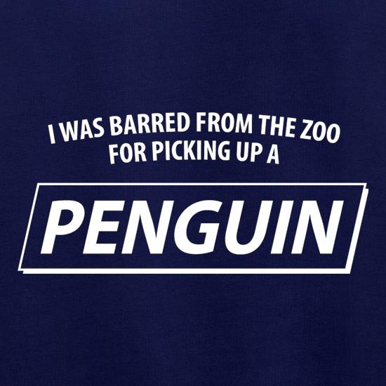 I Was Barred From The Zoo For Picking Up A Penguin Jumpers