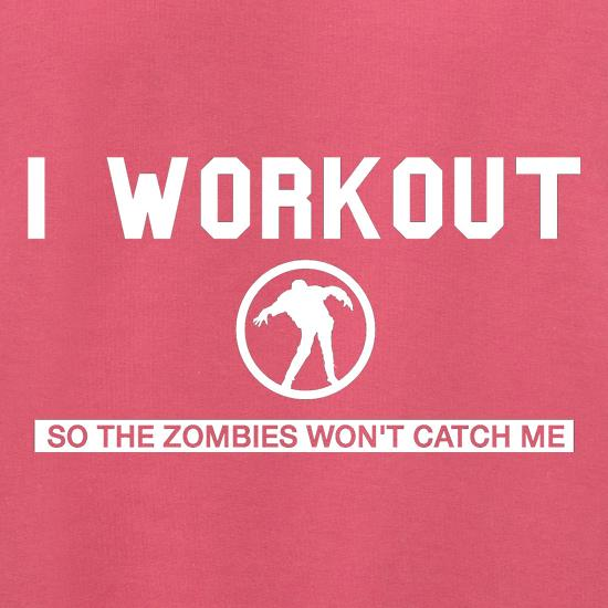 I Workout so the Zombies won't catch Me Jumpers