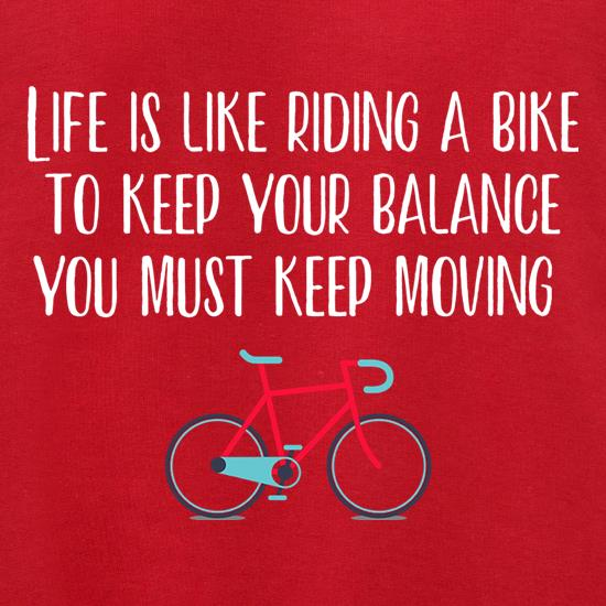 Life Is Like Riding A Bike Jumpers