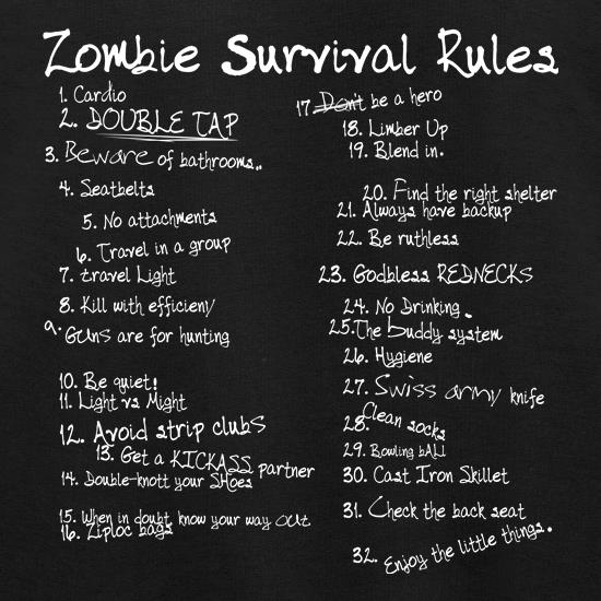 List of Zombie Rules Jumpers