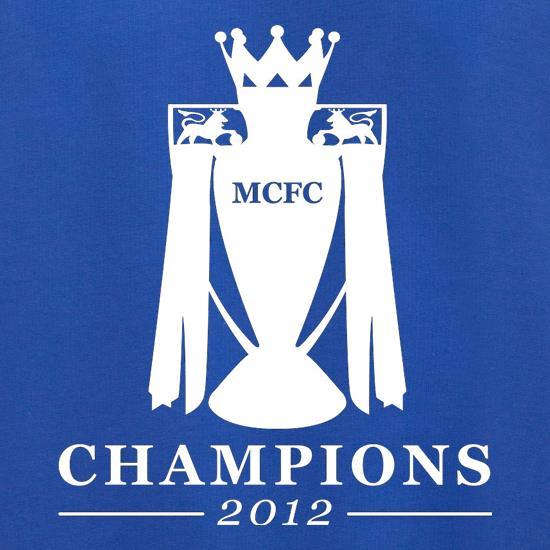 MCFC Champions 2012 Jumpers