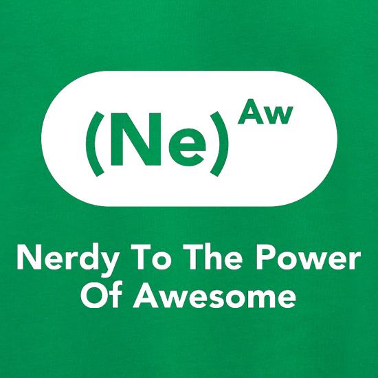 Nerdy To The Power Of Awesome Jumpers