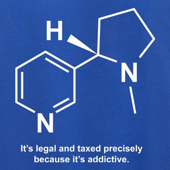 Nicotine - It's legal and taxed precisely because it's addictive Jumpers