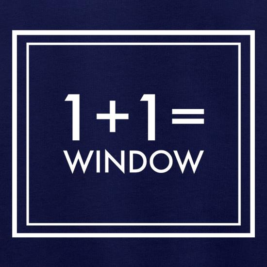 One Plus One Equals Window Jumpers