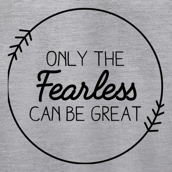 Only The Fearless Can Be Great Jumpers