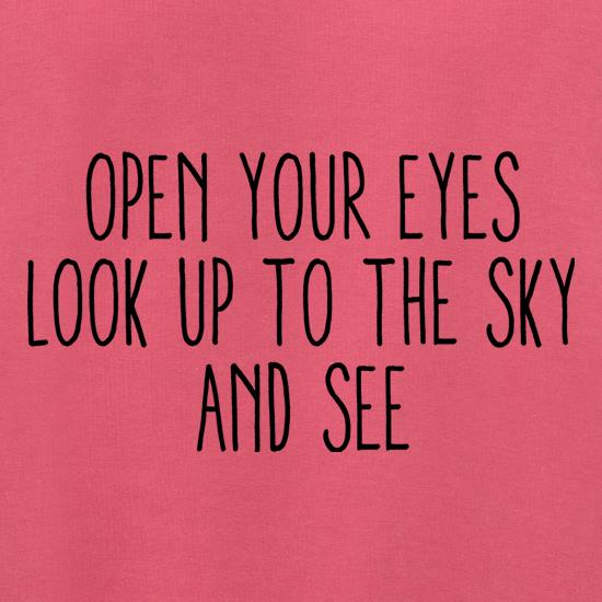Open Your Eyes, Look Up To The Sky And See Jumpers