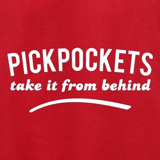 Pickpockets Take It From Behind Jumpers
