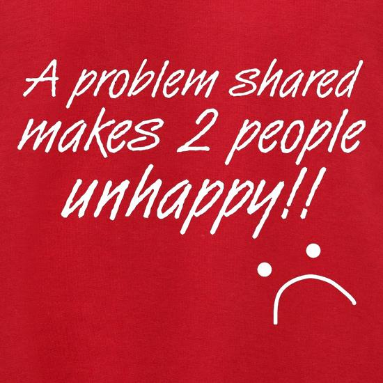 A Problem Shared Makes Two People Unhappy! Jumpers