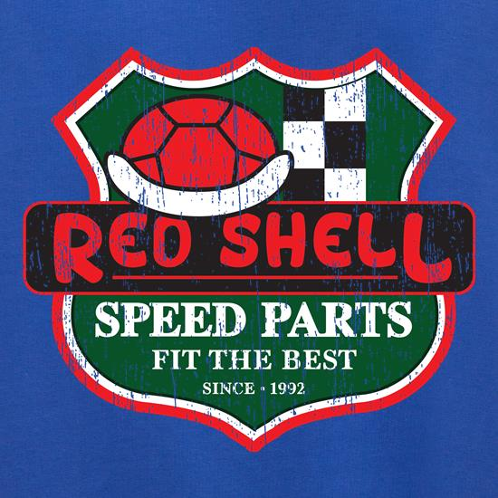 Red Shell Parts Jumpers