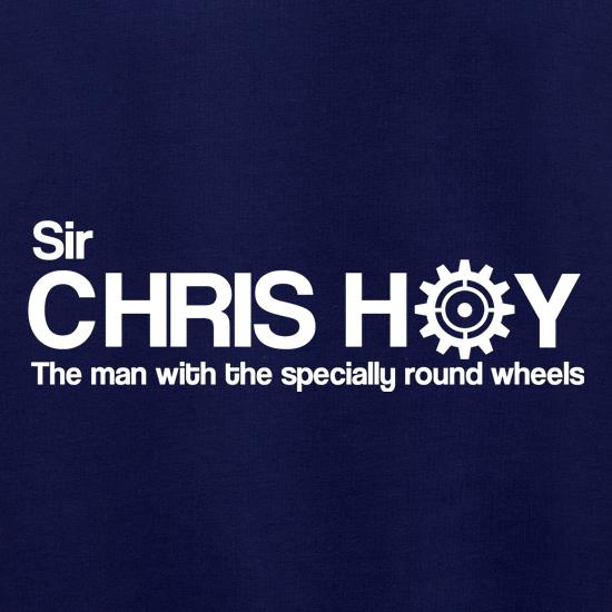 Sir Chris Hoy The Man With The Specially Round Wheels Jumpers