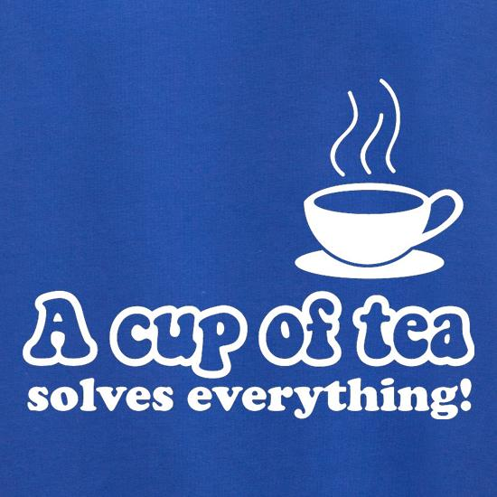 A Cup Of Tea Solves Everything Jumpers