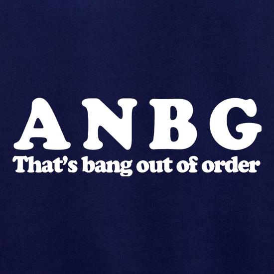 ANBG That's Bang Out Of Order Jumpers
