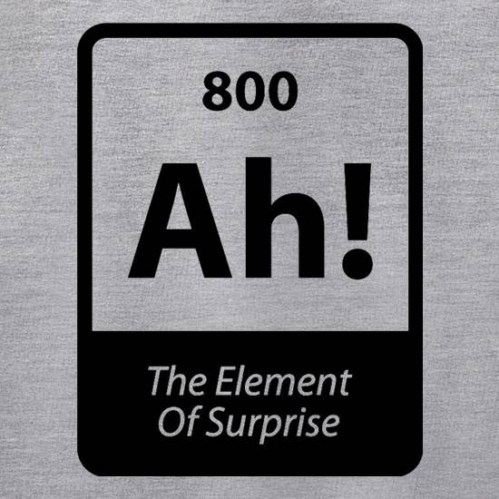 The Element Of Surprise Jumpers