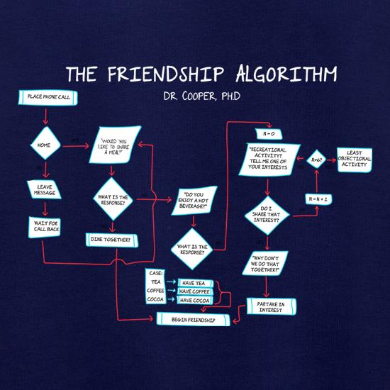 The Friendship Algorithm Jumpers
