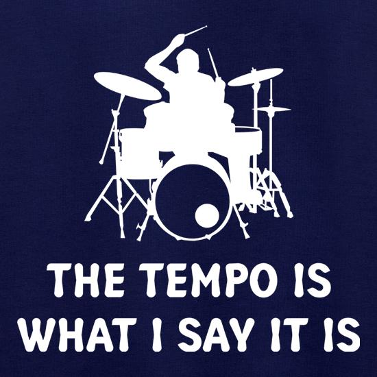 The Tempo Is What I Say It Is Jumpers