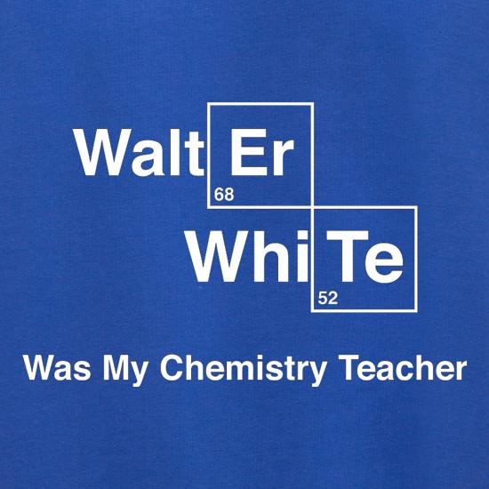 Walter White Was My Chemistry Teacher Jumpers